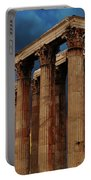 Temple Of Olympian Zeus Portable Battery Charger