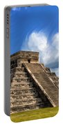 Temple Of The Feathered Serpent Portable Battery Charger