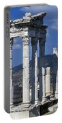 Temple Of Trajan View 1 Portable Battery Charger