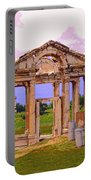 Temple Ruins At Ephesus Portable Battery Charger