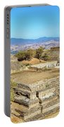 Temples In Monte Alban Portable Battery Charger