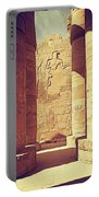 Temples Of Karnak  Portable Battery Charger