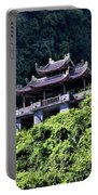 Temples Of Tam Coc Vietnam  Portable Battery Charger
