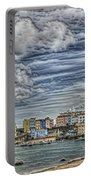 Tenby Harbour Texture Effect Portable Battery Charger