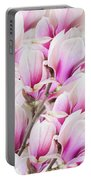 Tender Magnolia Flowers Portable Battery Charger