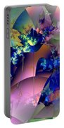 Tending Toward Flowers Portable Battery Charger