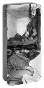 Tenement Life, Nyc, C1889 Portable Battery Charger