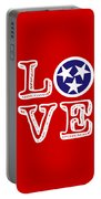 Tennessee Flag Love Portable Battery Charger