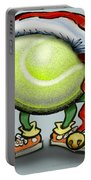 Tennis Christmas Portable Battery Charger