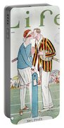 Tennis Court Romance, 1925 Portable Battery Charger