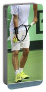 Tennis Player Portable Battery Charger