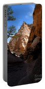 Tent Rocks Canyon Portable Battery Charger