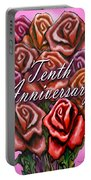 Tenth Anniversary Portable Battery Charger