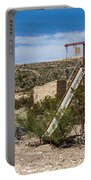 Terlingua Ghost Town #5 Portable Battery Charger