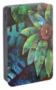Terra Pacifica By Reina Cottier Nz Artist Portable Battery Charger