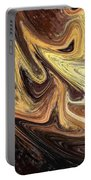 Terrestrial Brush Strokes  Portable Battery Charger