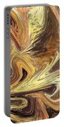 Terrestrial Fire Abstract Portable Battery Charger