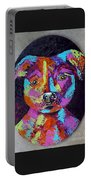 Tessa's Pittbull Portable Battery Charger