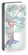 Tesselated Tree Portable Battery Charger