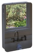 Window Over The Sink Portable Battery Charger