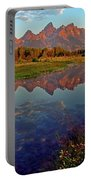 Teton Wildflowers Portable Battery Charger