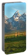 Tetons And Cabin Portable Battery Charger