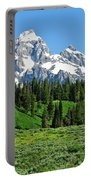 Tetons In Spring Portable Battery Charger