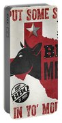 Texas Barbecue 4 Portable Battery Charger