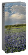 Texas Bluebonnet Bliss Portable Battery Charger