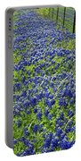 Texas Bluebonnets 004 Portable Battery Charger