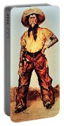 Texas Cowboy Portable Battery Charger
