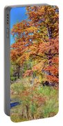 Texas Hill Country Autumn Portable Battery Charger