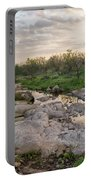 Texas Hill Country Sunrise - Llano Tx Portable Battery Charger