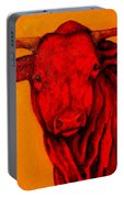 Texas Longhorn Portable Battery Charger