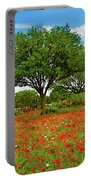 Texas Poppy Field 159 Portable Battery Charger
