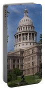 Texas State Capitol - Austin Tx Portable Battery Charger