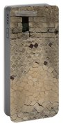 Textural Antiquities Herculaneum Wall One Portable Battery Charger