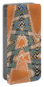 Textured Abstract # 2060ew4dt Portable Battery Charger