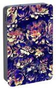 Textured Garden Succulents Portable Battery Charger