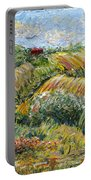 Textured Tuscan Hills Portable Battery Charger