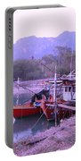 Thai Fishing Boats 05 Portable Battery Charger