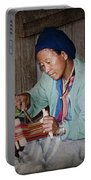 Thai Weaving Tradition Portable Battery Charger