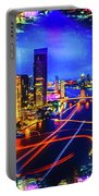Thailand Skyline Art Portable Battery Charger