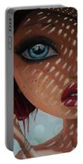 That Perfect Love I Never Had - Oil Painting Portable Battery Charger