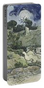 Thatched Cottages At Cordeville Portable Battery Charger