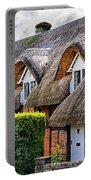 Thatched Cottages In Chawton 2 Portable Battery Charger