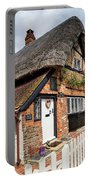 Thatched Cottages In Chawton 4 Portable Battery Charger