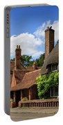 Thatched Cottages In Chawton 6 Portable Battery Charger