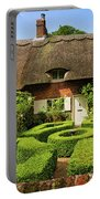 Thatched Cottages In Chawton 7 Portable Battery Charger