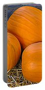The 3 Amigo Pumpkins Expressionist Effect Portable Battery Charger